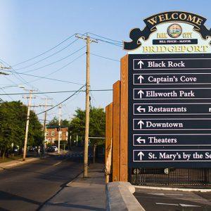 Neighborhood street sign